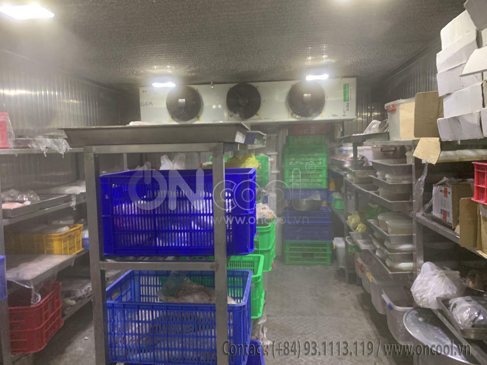 Thi cong kho lạnh tại chợ nông sản Thủ Đức
