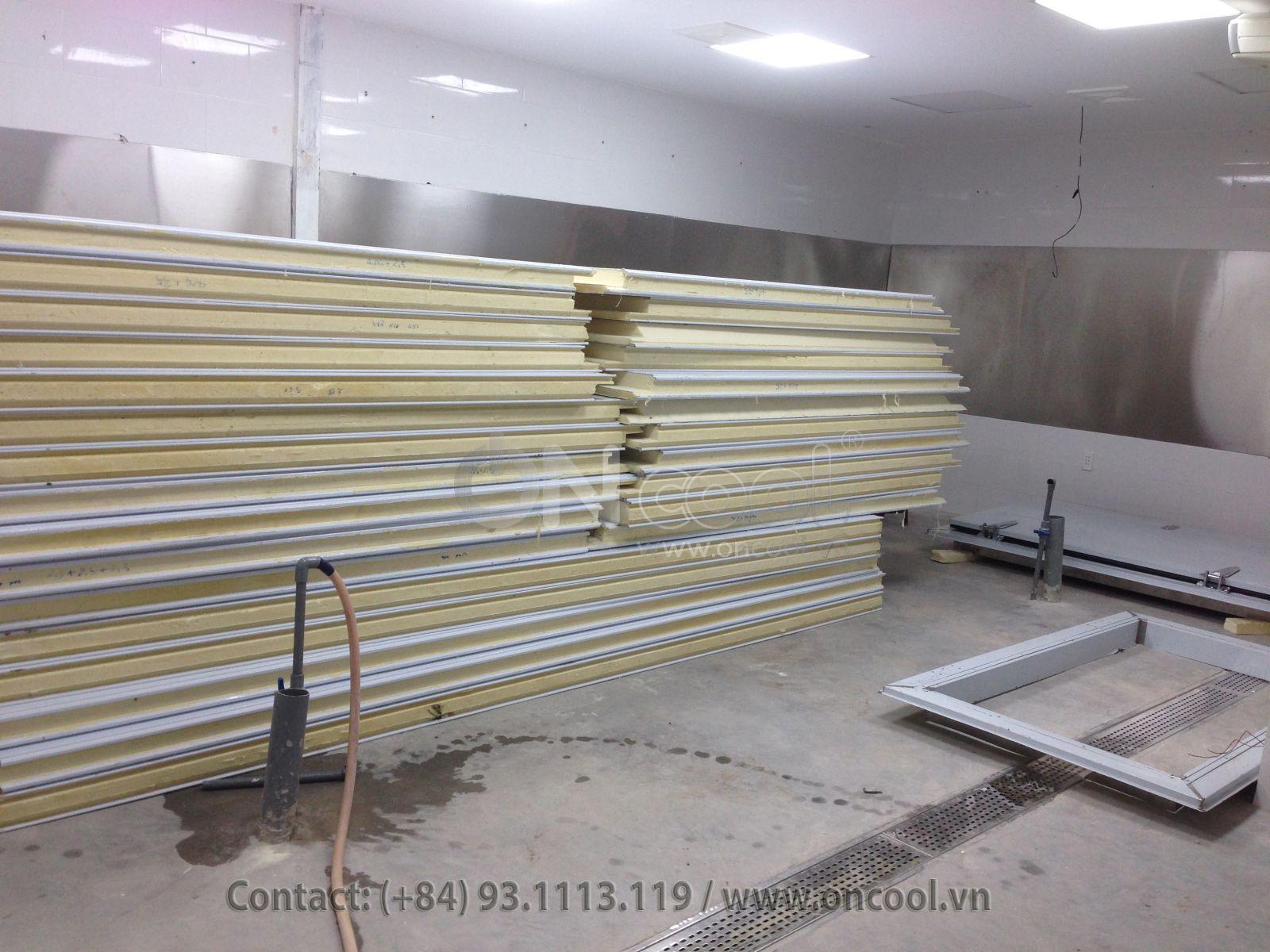Lắp đặt Panel kho lạnh tại Long An