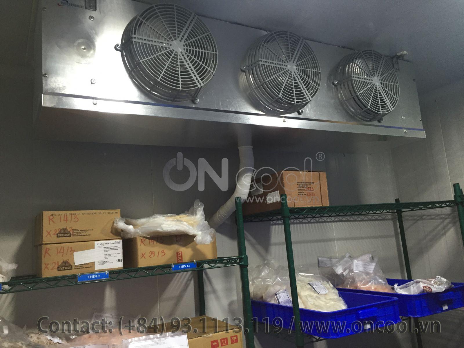 Kho lạnh bảo quản thực phẩm tại quận 1