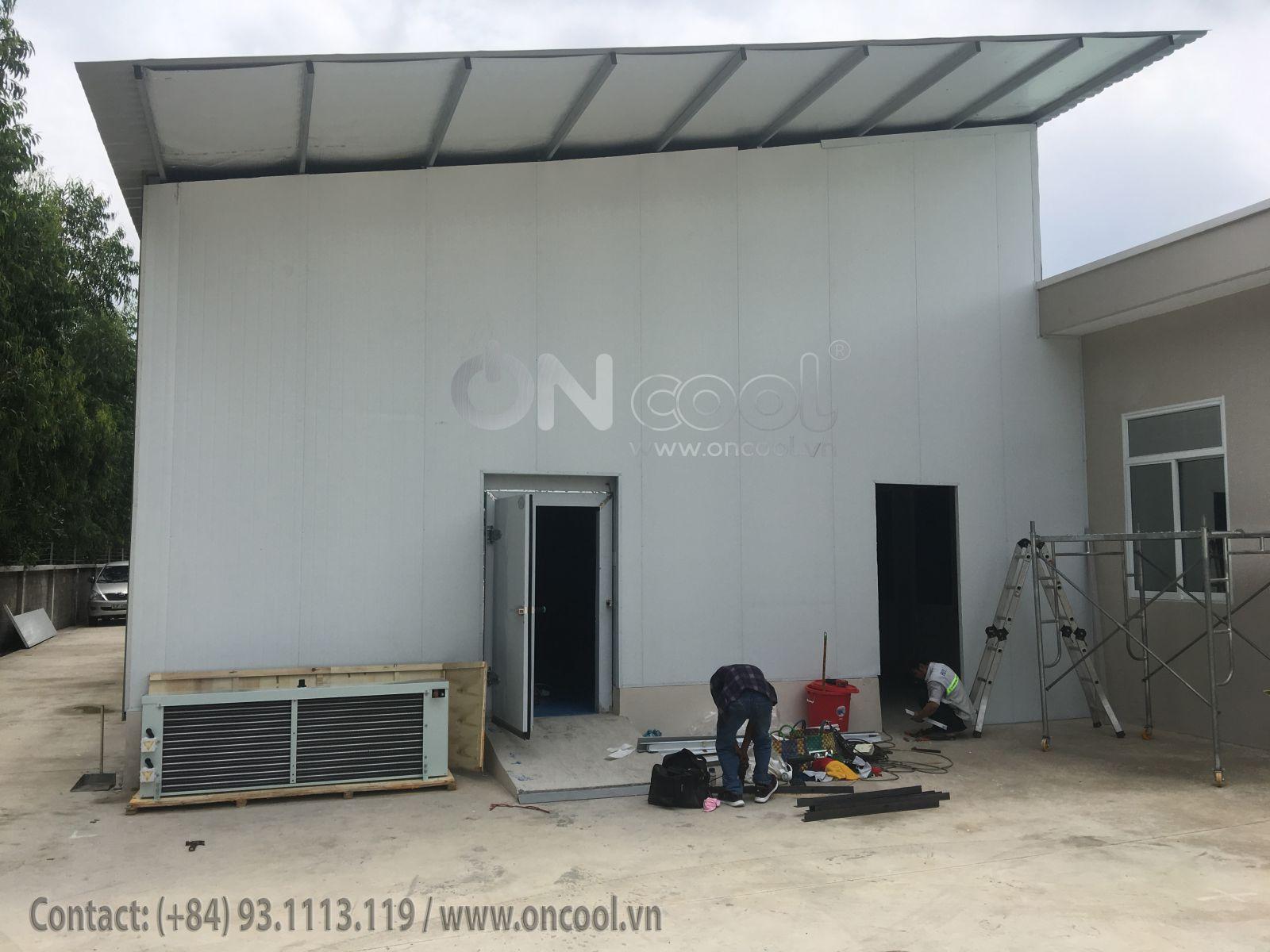 Thi công kho lạnh tại tỉnh Tiền Giang